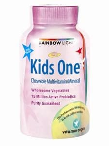 Kids One Chewable 90 tabs by Rainbow Light Nutrition