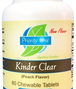 Kinder Clear Peach Flavor 60t by Priority One