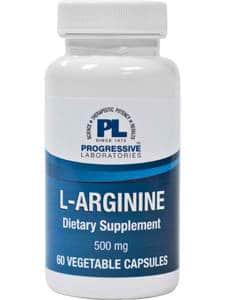 L-Arginine 500mg 60c by Progressive Labs