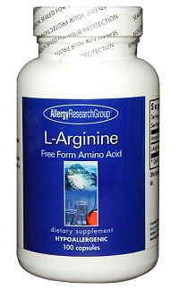 L-Arginine 500mg 100c by Allergy Research Group