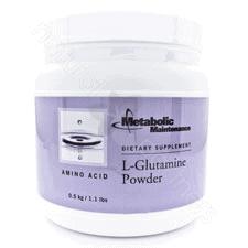 L-Glutamine Powder 500 grams by Metabolic Maintenance