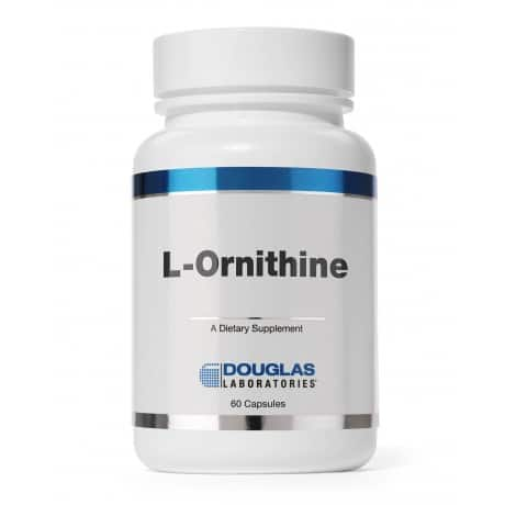 L-Ornithine 500mg 60c by Douglas Laboratories
