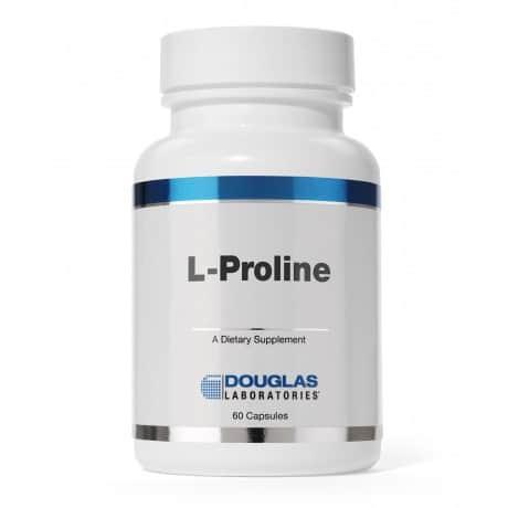 L-Proline 500mg 60c by Douglas Laboratories