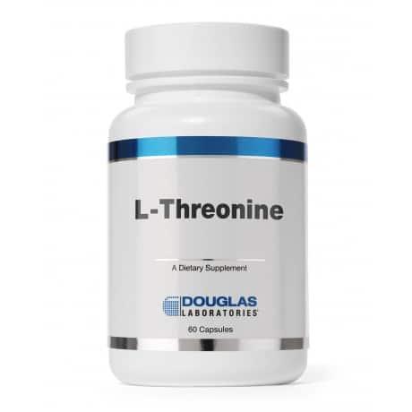 L-Threonine 500mg 60c by Douglas Laboratories