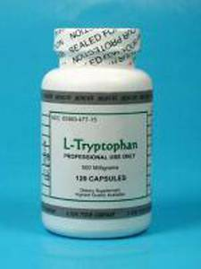 L Tryptophan 500 mg 120 vcaps by Montiff