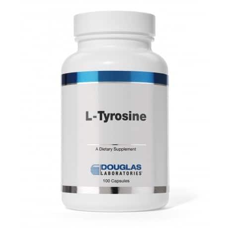 L-Tyrosine 500mg 100c by Douglas Laboratories