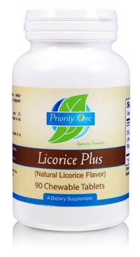 Licorice Plus Chewables 90 by Priority One