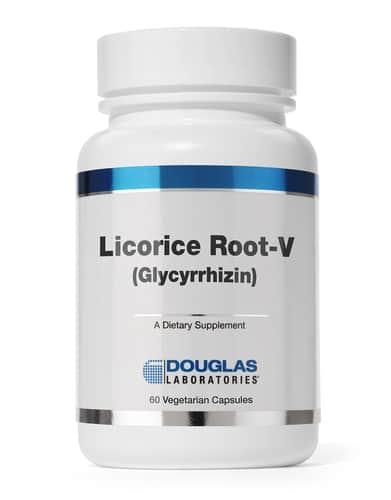 Licorice Root-V 500mg 60c by Douglas Laboratories