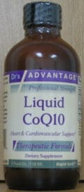 Liquid CoQ10 50mg 4oz