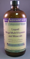 Liquid Mega MultiVitamins & Minerals 16oz by Dr's Advantage.