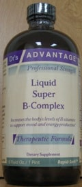 Liquid Super B-Complex 16oz by Dr's Advantage.