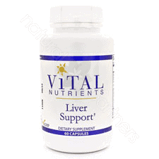 Liver Support 60c by Vital Nutrients