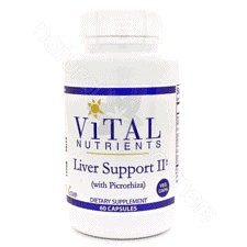 Liver Support II VEG 60c by Vital Nutrients
