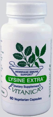 Lysine Extra 60c by Vitanica
