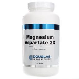 Magnesium Aspartate 2x 250t by Douglas Laboratories