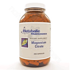 Magnesium Citrate 250c by Metabolic Maintenance