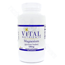 Magnesium Glycinate 120mg 100c by Vital Nutrients