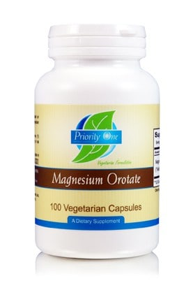 Magnesium Orotate 360mg 100c by Priority One