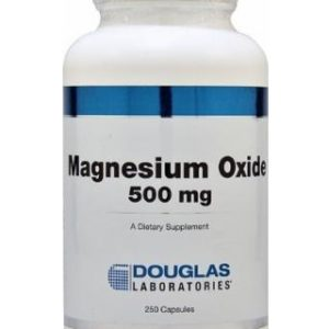 Magnesium Oxide 500mg 250c by Douglas Laboratories