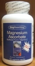 Magnesium Ascorbate 100c by Allergy Research Group