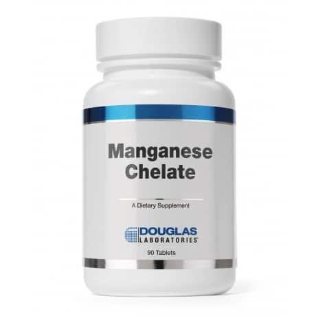 Manganese Chelate 50mg 90t by Douglas Laboratories