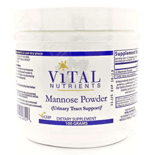 Mannose Powder 100g by Vital Nutrients