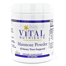 Mannose Powder 50mg by Vital Nutrients
