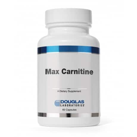 Max Carnitine 500mg 60c by Douglas Laboratories