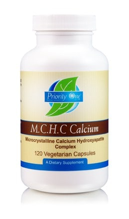 M.C.H.C. Calcium 120c by Priority One