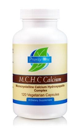 M.C.H.C. Calcium 120c by Priority One