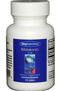 Melatonin 3mg 120t by Allergy Research Group