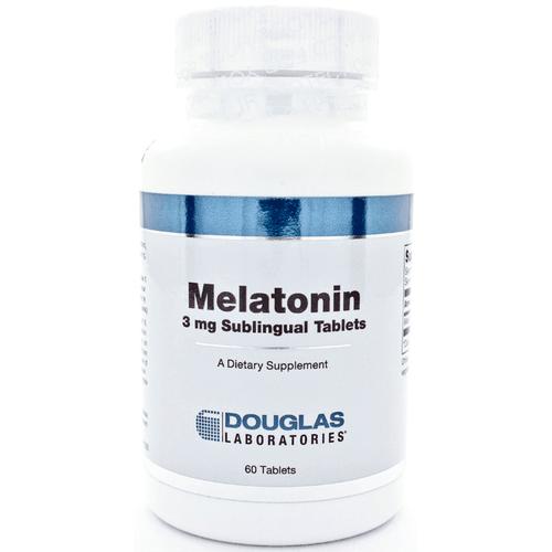 Melatonin 3mg/Sublingual 60t by Douglas Laboratories
