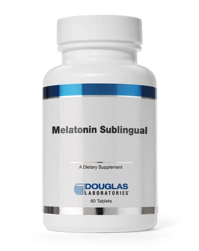 Melatonin Sublingual 1mg 60t by Douglas Laboratories