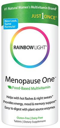 Menopause One Multivitamin 90 tabs by Rainbow Light Nutrition