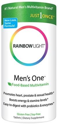 Men's One Multivitamin 90 tabs by Rainbow Light Nutrition