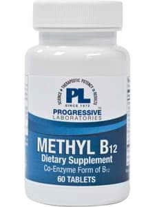 Methyl B12 60t by Progressive Labs