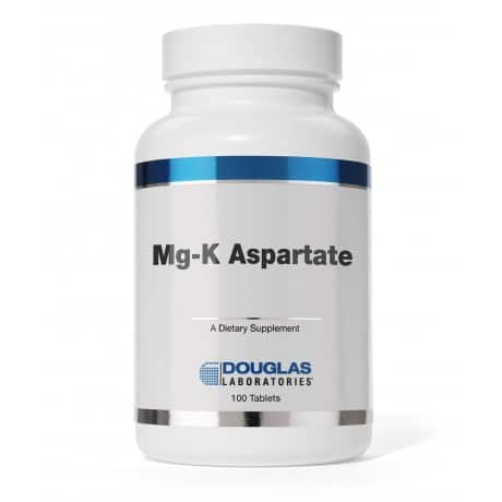 Mg-K Aspartate 100t by Douglas Laboratories