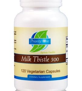 Milk Thistle 500mg 120c by Priority One