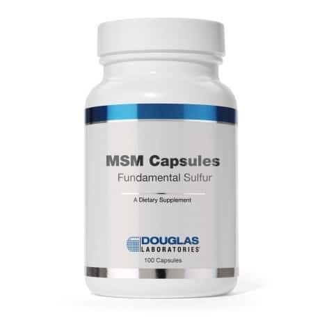 MSM Capsules by Douglas Laboratories