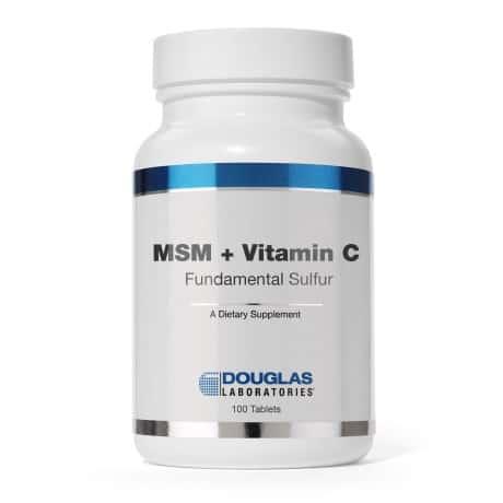 MSM + Vitamin C by Douglas Laboratories
