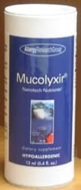 Mucolyxir 0.3mcg 12ml by Allergy Research Group