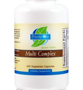 Multi Complex Capsules 240c by Priority One