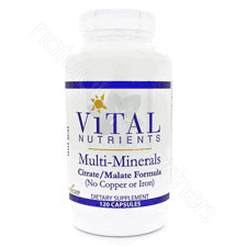 Multi-Minerals (Citrate) 120c by Vital Nutrients