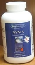 MVM-A Antioxidant Protocol 180c by Allergy Research Group