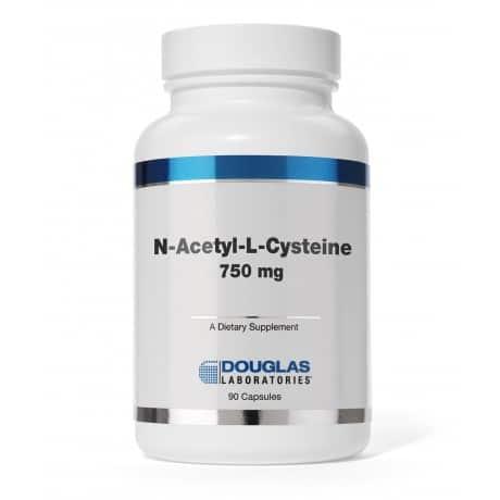 N-Acetyl-L-Cysteine 750 mg by Douglas Laboratories