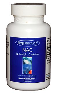 N-Acetyl Cysteine (NAC) 120t by Allergy Research Group