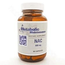 NAC 600mg 60c by Metabolic Maintenance