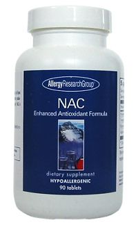 NAC/Enhanced Antioxidant Formula 90t by Allergy Research Group