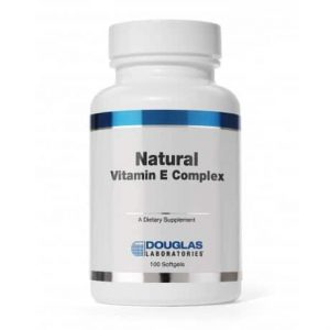 Natural Vit E Complex 400IU 100c by Douglas Laboratories