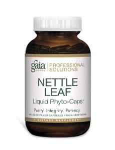 Nettle Leaf 60c by Gaia Herbs